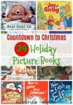 Countdown to Christmas with a collection of 24 picture books that are fun for the whole family.