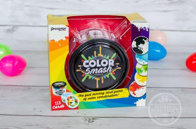 Color Smash Game for Easter Basket