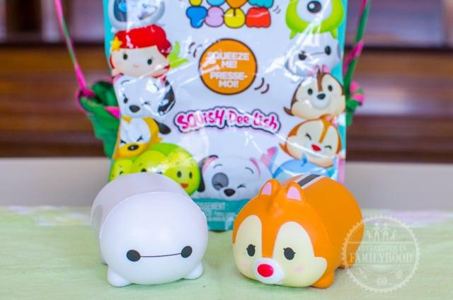 Disney Tsum Tsum Squish-dee-lish Series 1 baymax and dale