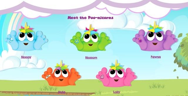 Meet The Poo-nicorns