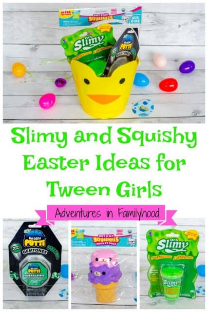 Slimy and Squishy Easter Ideas for Tween Girls