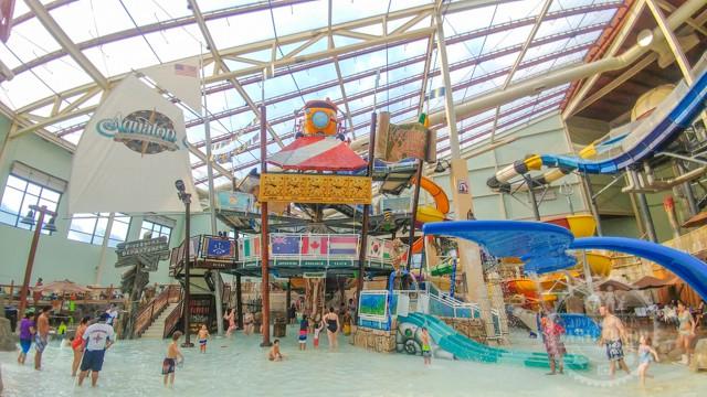 Aquatopia Indoor Waterpark at Camelback Resort