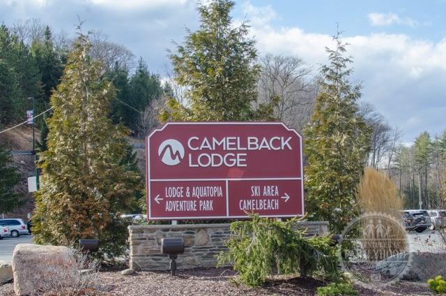 Camelback Resort Sign