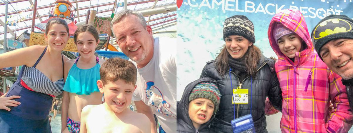 Camelback Resort Snow and Water Fun