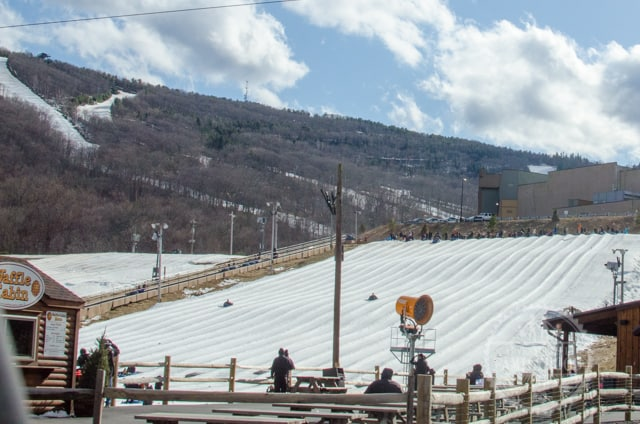 Camelback Resort Snowtubing Park and Ski Trails
