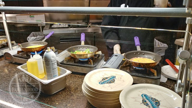 Omelette Station at Hemispheres Buffet Camelback Resort