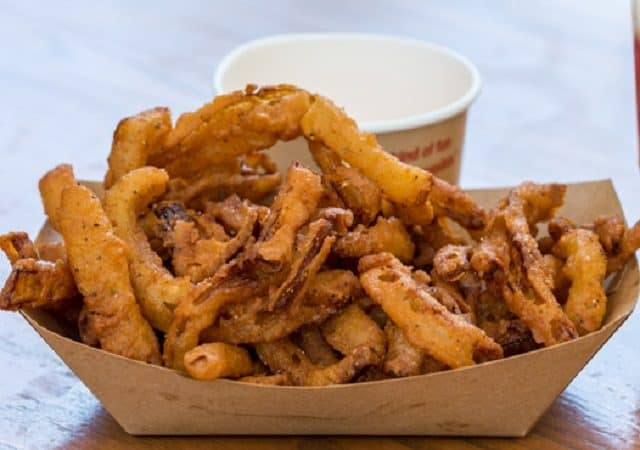 Onion Straws with Texas Petal Sauce from Rosie's All-American Cafe at Disney's Hollywood Studios