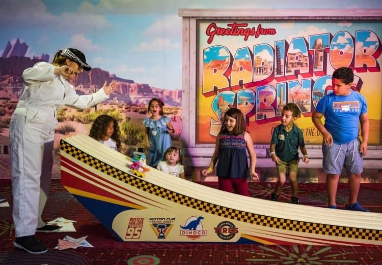 Pixar Play Zone Radiator Springs