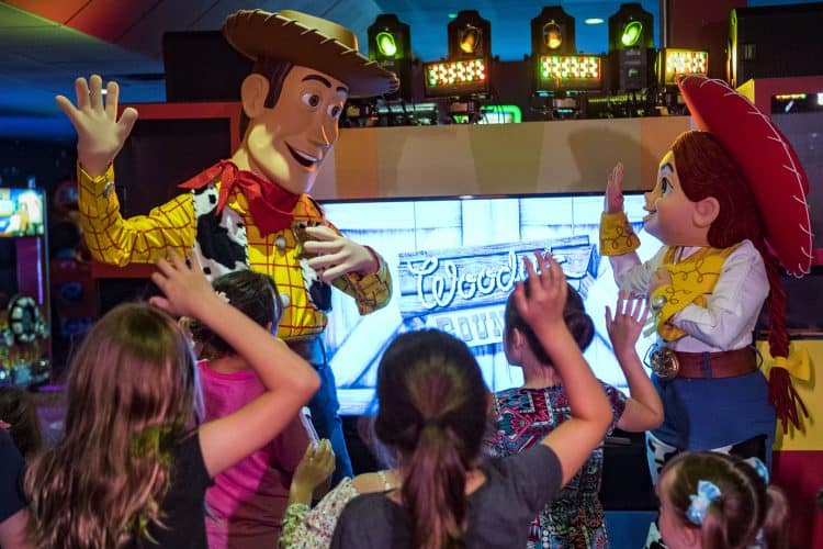 Pixar Play Zone Woody Jessie Disney's Contemporary Resort