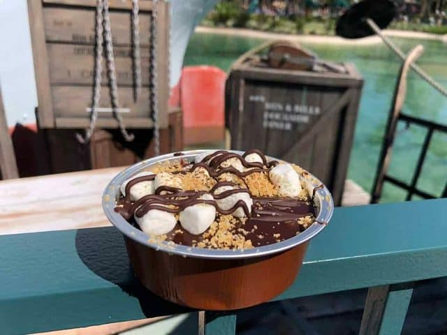 Smores Brownie from Dockside Diner at Disney's Hollywood Studios