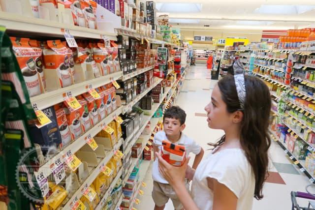 Supermarket Scavenger Hunt Game