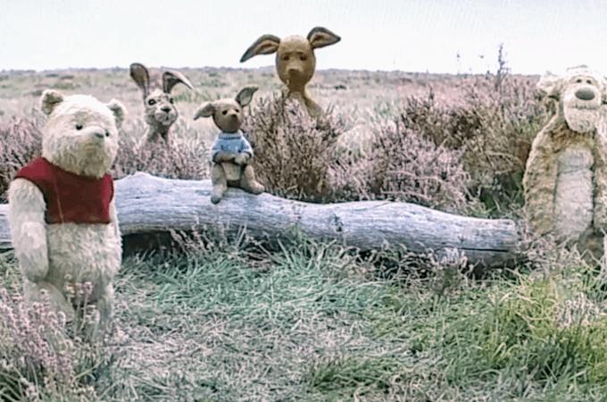 pooh rigger eeyore Christopher robin movie