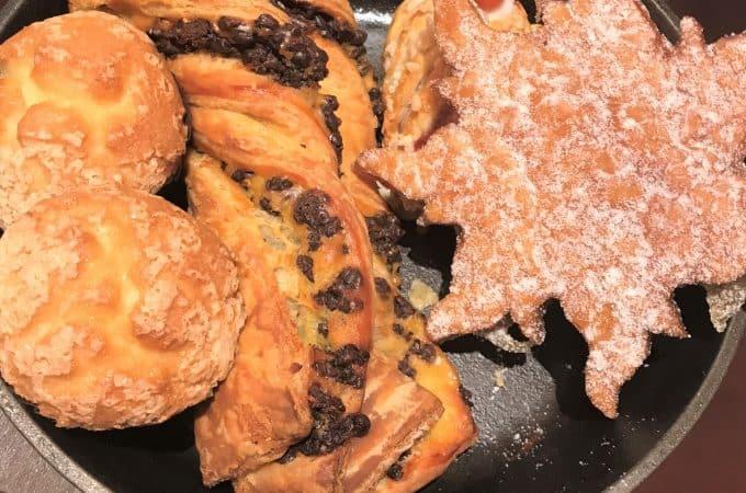 Bon Voyage Breakfast at Trattoria al Forno Pastry Skillet