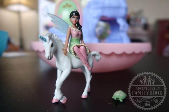 My Fairy Garden Fairy, Unicorn and Turtle figures
