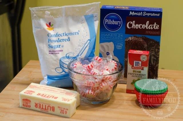Peppemint Cupcakes
