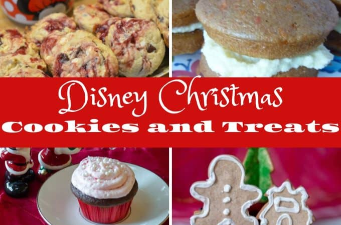 Disney Christmas Cookies and Treats