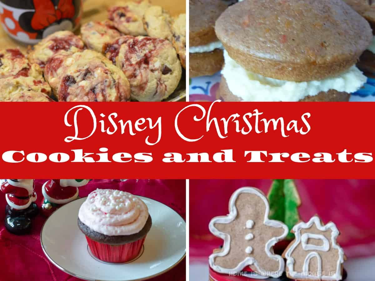 Disney Christmas Cookies And Treats Adventures In Familyhood