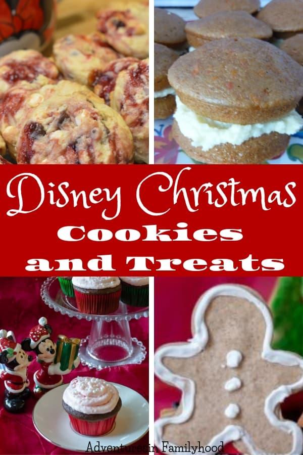 Disney Christmas Cookies and Treats