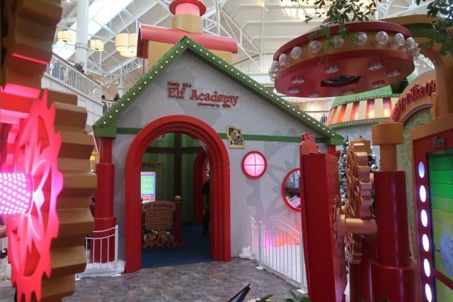 Elf Academy at Santa HQ by HGTV