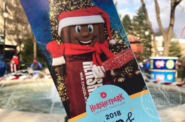 Hersheypark Christmas Candylane Map Guide