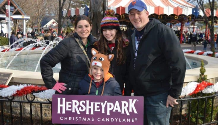 Christmas Candylane at Hersheypark