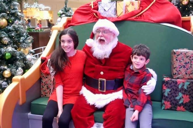 meeting santa at hgtv's santa hq
