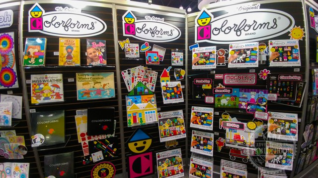 Colorforms at Toy Fair NY