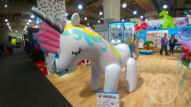 Inflatable Unicorn Sprinkler