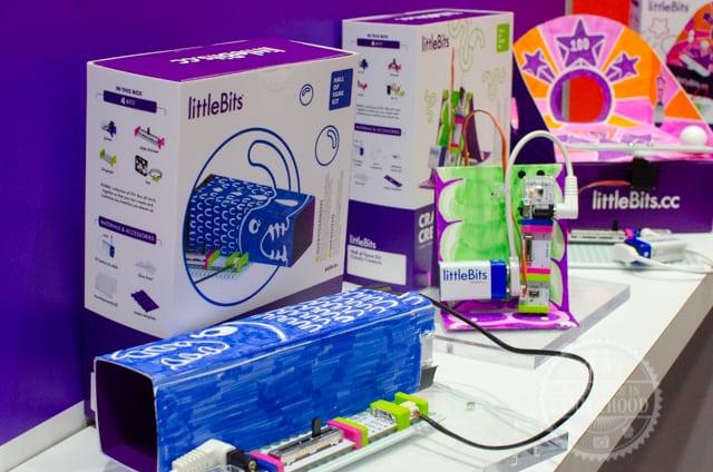 Little Bits Coding Kits at Toy Fair NY
