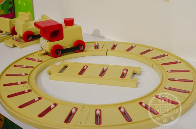 Musical Train that teaches coding