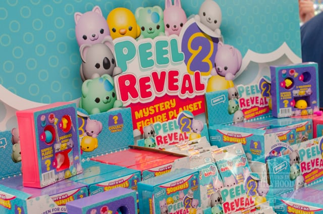 Peel 2 Reveal collectible toys at Toy Fair NY