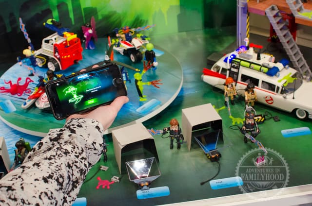 Playmobil Ghostbuster toys with app