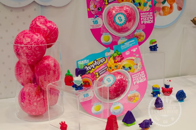 Shopkins Fizz toys at Toy Fair NY