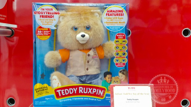 Teddy Ruxpin Toy of the Year