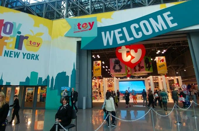 Toy Fair NY 2018 entrance