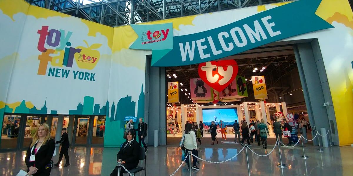 Toy Fair NY 2018 entrance