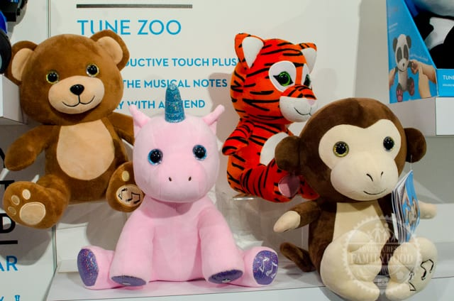 Tune Zoo Muscial Plush circuit toys