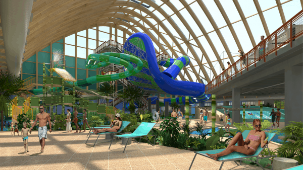 THe Kartrite Indoor Waterpark