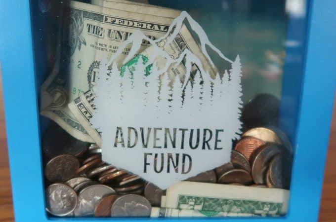adventure fund savings box