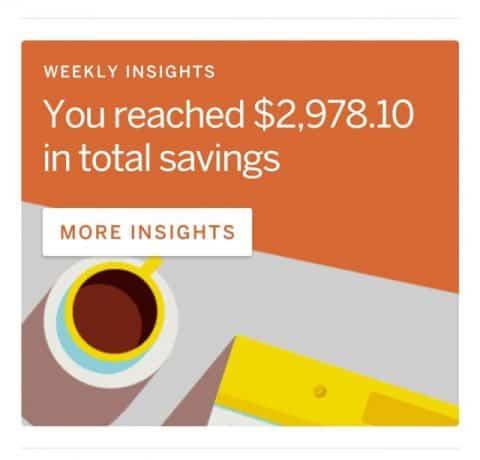 qapital total savings to date