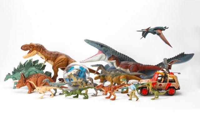Mattel Jurassic World Dinosaur Action Figures