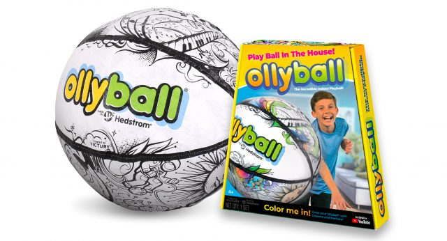Ollyball - The Ultimate Indoor Play Ball!