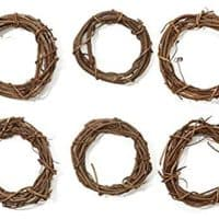 "Grapevine Wreaths 6"" Bulk-Natural"