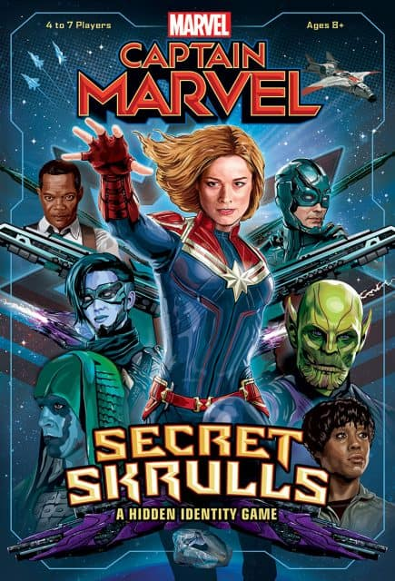 Captain Marvel Secret Skulls Game