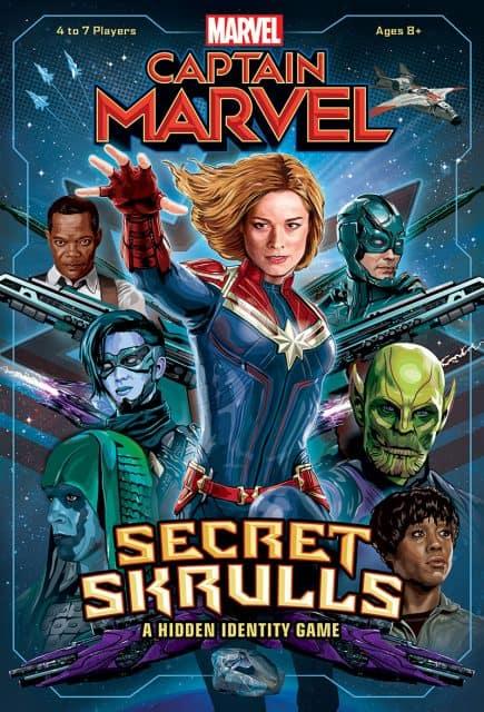 Captain Marvel Secret Skulls Game