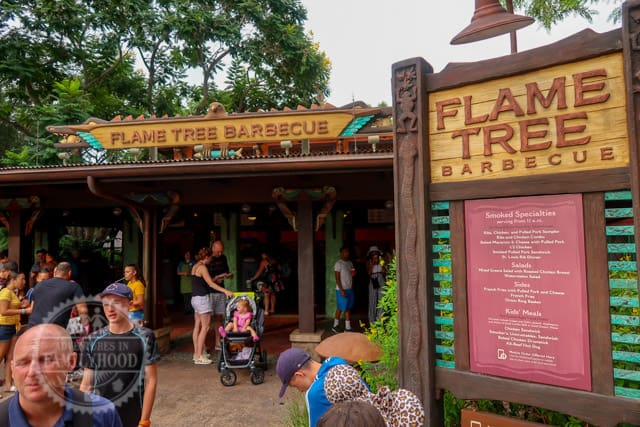 Flame Tree Barbecue Counter Service Restaurant at Disney's Animal Kingdom