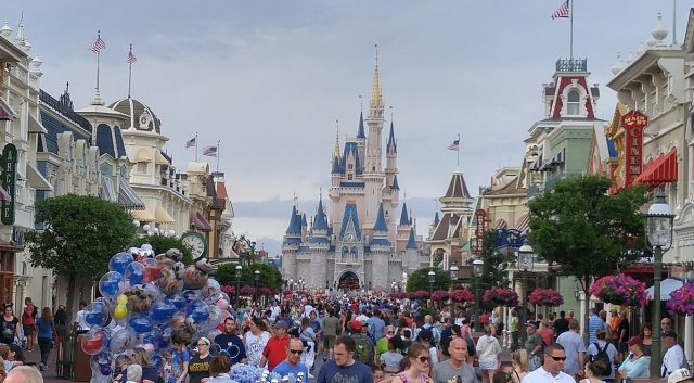 Spring Break Crowds at Disney World
