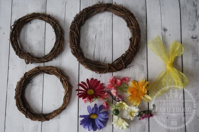 Springtime Mickey Wreath Supplies