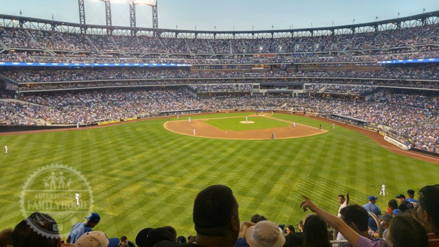 View from outfield seats at Citi Field