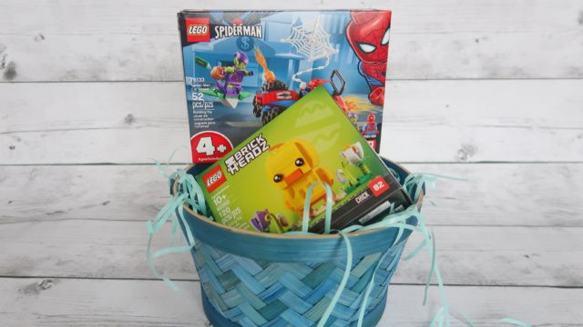 You can put together an afforable LEGO Easter basket like this one for under $20